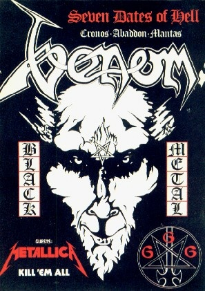 Venom, Metallica