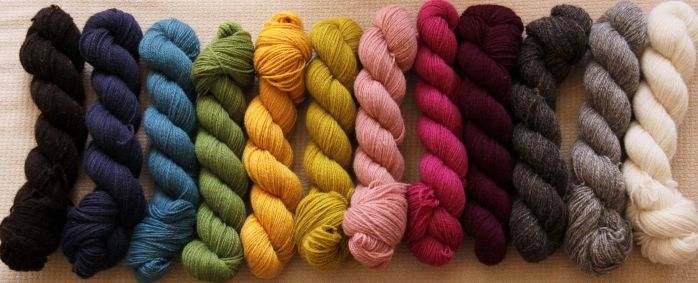 Tukuwool Colors