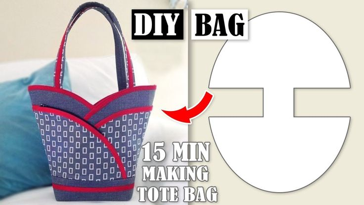 DIY MOST POPULAR DESIGN HANDBAG TUTORIAL // Tote B…