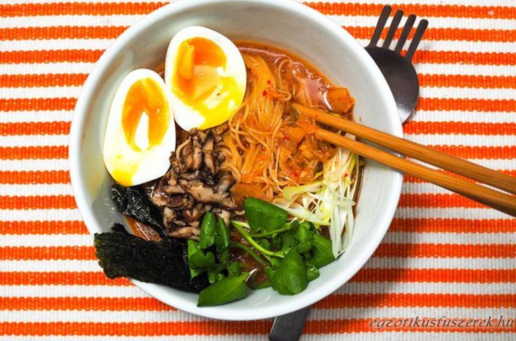 Koreai Kimchi Ramen Leves - Gyorsan, egyszerűen