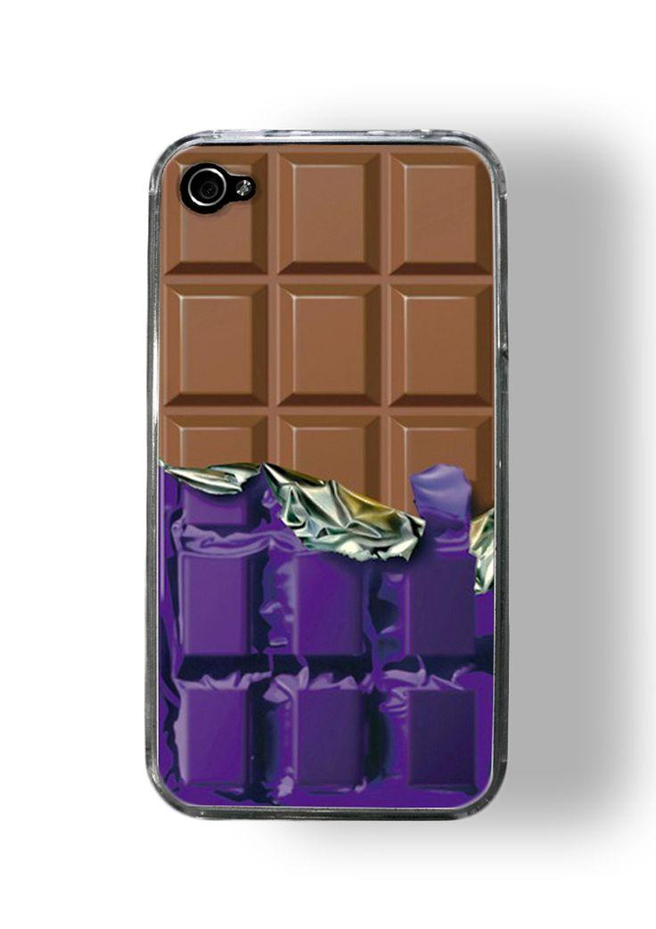 Chocolate I Phone case.. it looks soso realistic!!!!!!!!!!!!!!!!!!!