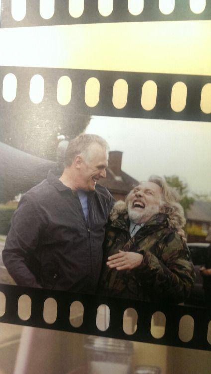 Greg Davies and Rik Mayall. Aw. *sob*