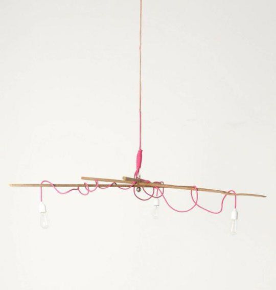 Designer or DIY?: Jeff Jones' Tobacco Stick Chandelier
