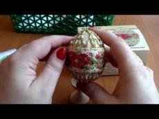"""УРА!!! Готовое пасхальное яйцо от Риолис! Весь процесс. СП""""Пасхальный бум""""."""
