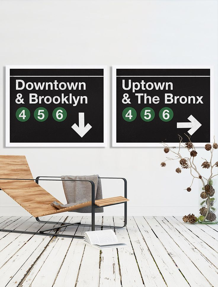 Extra Large Prints NYC Art Modern Decor Subway Prints Downtown Print Brooklyn Art Print Uptown Bronx Poster Apartment Prints Industrial Art by CocoAndJamesHome on Etsy https://www.etsy.com/listing/281214442/extra-large-prints-nyc-art-modern-decor