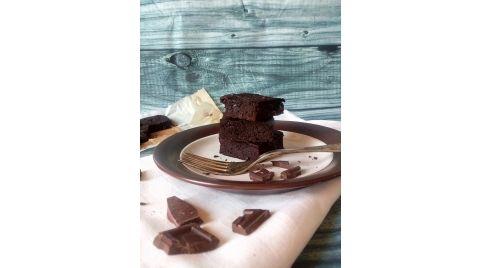 Diétás sütőtökös csokis brownie (paleo, cukormentes recept)