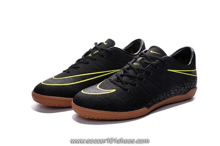 Nike Men's Hypervenom Phelon II IC Indoor Football Soccer Shoes Black $73.00