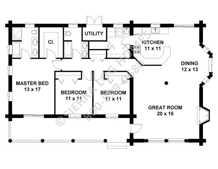 33 best custom log homes by gastineau log homes images on for Alaska floor plans