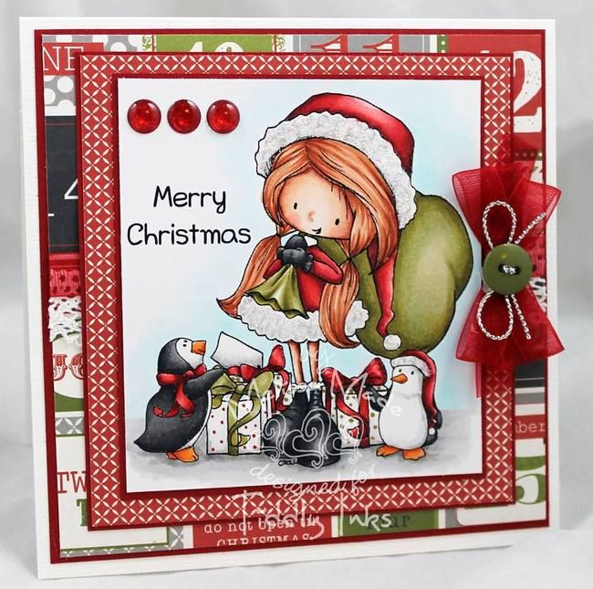 Santa's Helpers | Digital Stamps | Tiddly Inks