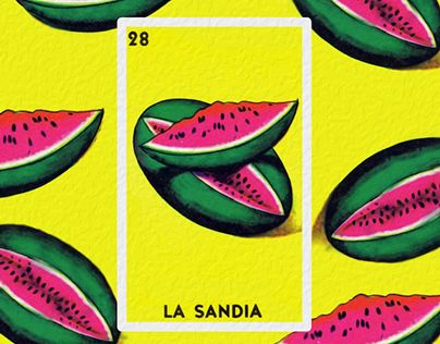 """Check out new work on my @Behance portfolio: """"LOTERIA!"""" http://on.be.net/1Fuy4Xy"""