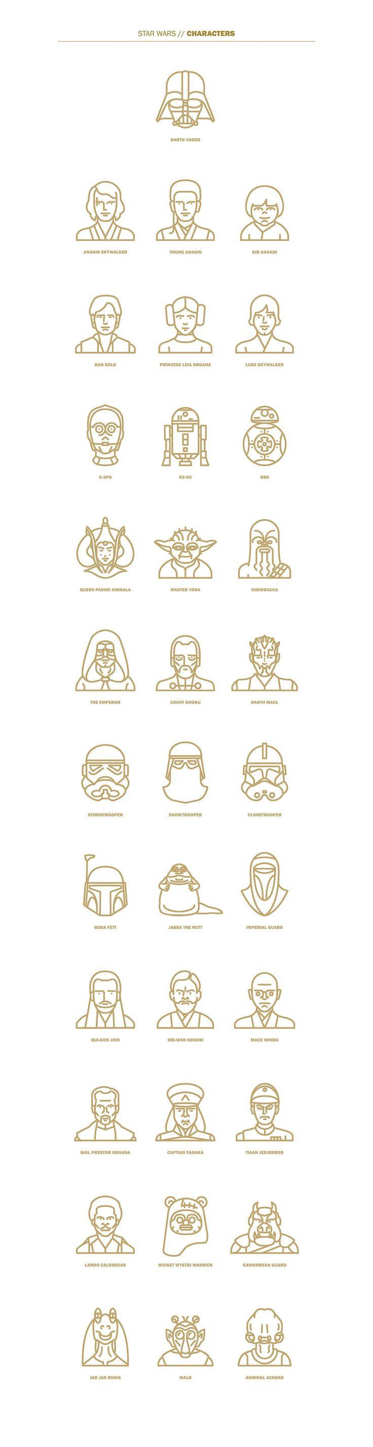 The Designis Strong With This One Selin Ozgur est une graphiste Californienne adepte du design épuré, et nous livre ici une superbe galerie de logos reprenant la plupart des personnages, véhicules…