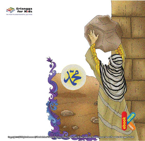 Abu Jahal Melemparkan Batu Ke Kepala Rasulullah