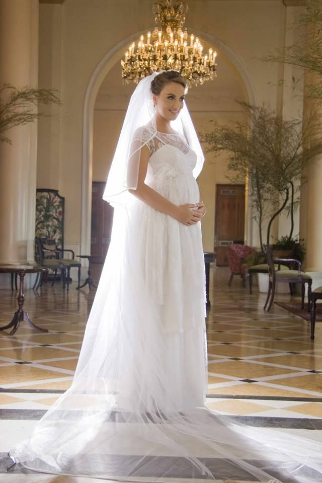 Vestido de Noiva para gravidas
