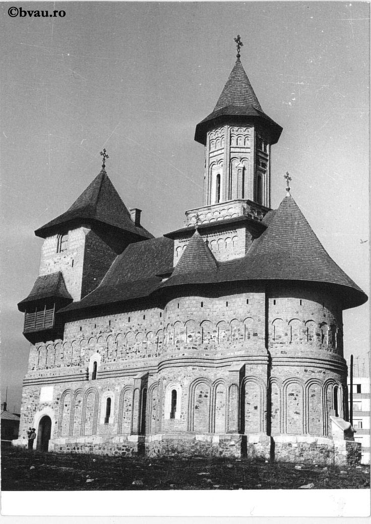 """Biserica fortăreață Precista, 1969, Galați, România. Imagine din colecțiile Bibliotecii """"V.A. Urechia"""" Galați."""