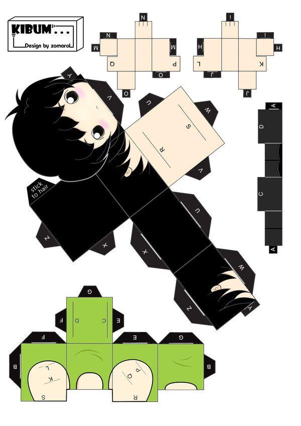 Papercraft-KiBum by zomarol on deviantART