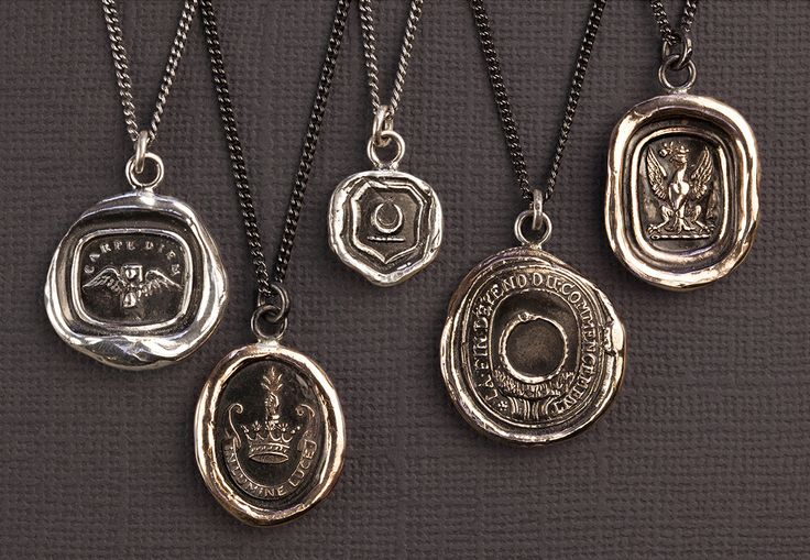 Share the perfect sentiment with the class of 2015. Shown: Carpe Diem, Inspiration, New Beginnings, Knowledge, and Follow Your Dreams Talisman necklaces. #graduation #gradgifts
