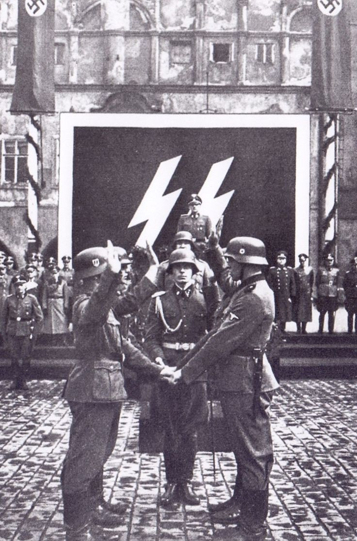 Serment de la SS au Führer.