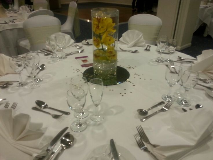 Table setting - Bowden Hall