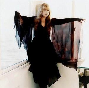 Stevie Nicks.. i wish i could just dress like her everyday. witchy chic. Epic Artist available for Skin Care, Hair and Fashion Tie Ins epicrights.com