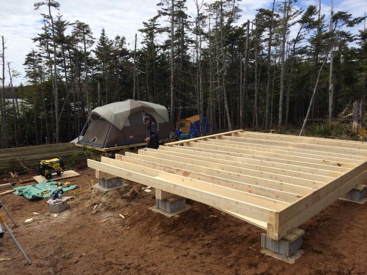 How to: Build a Rock Solid, Low Cost Off Grid Cabin Foundation