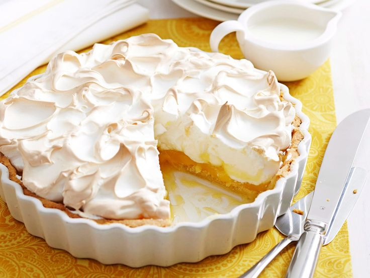 Sticky and sweet with just a whisper of tartness, a good old-fashioned lemon meringue pie is always greeted with murmurs of appreciation. This one, by Woman's Day is no different.