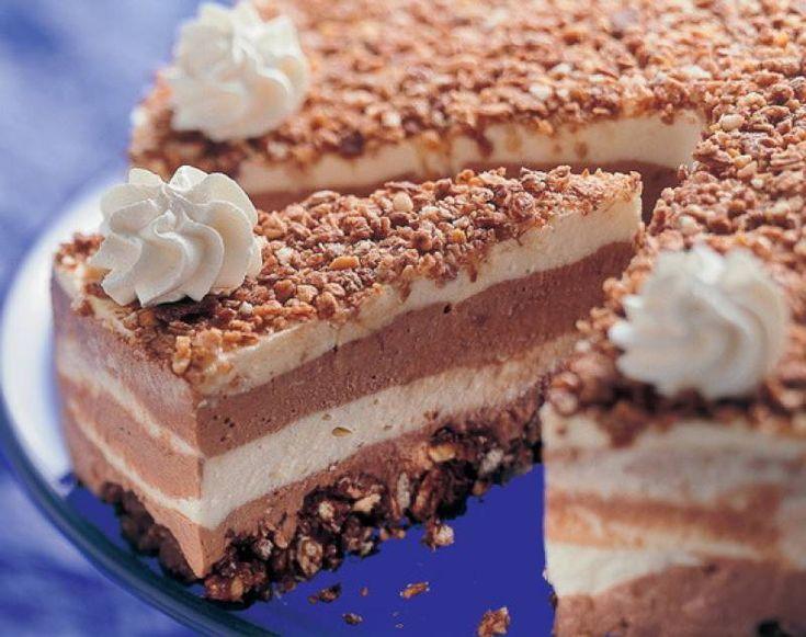 Csokikrémes villám torta