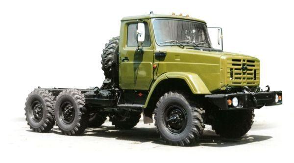 Автомобили высокой проходимости семейства ЗиЛ-433420 ...