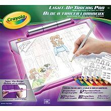 Crayola - Light Up Tracing Pad - Pink