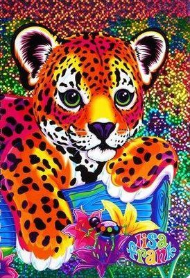 Lisa Frank: It is the belief that all girls are entitled to dolphins covered with rainbows, jewel-encrusted frogs, and unicorns in acid-trip colors hugging each other. Description from pinterest.com. I searched for this on bing.com/images