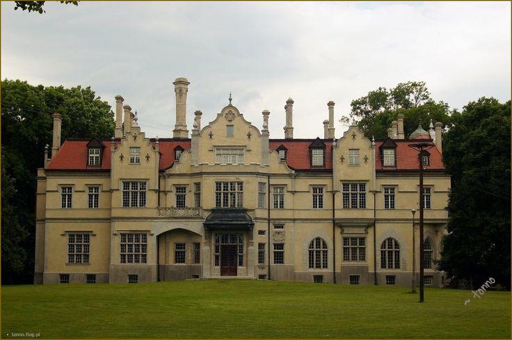 Pałac w Jabłoniu zbudowany w latach 1904-1905 wg projektu Ferdinanda Fellnera przez oficera wojsk napoleońskich - Piotra Strzyżowskiego. Kolejni właściciele to Zamoyscy -mieszkali tu do 1944 roku. Po 1945 roku był tu internat, potem budynek uległ pożarowi. Zniszczony, opuszczony następnie przez wiele lat remontowany.
