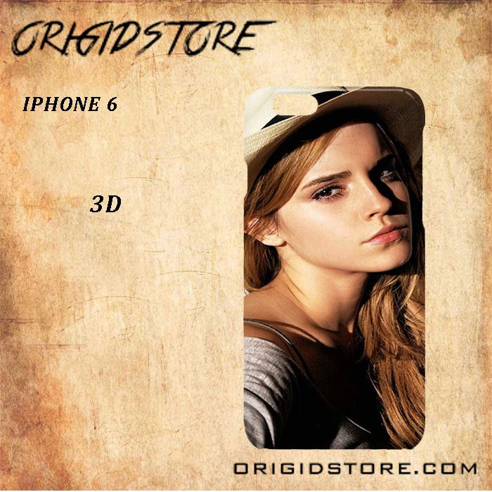 Emma watson black white snap on 3d for iphone 6 case - Emma watson iphone ...
