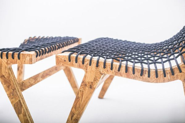 Eco Friendly Furniture from Mexico City: All the materials they use come from the waste of nearby factories and they collaborate with some of the best young designers to transform it into beautiful design objects.