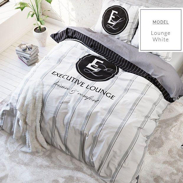 Elegancka biała pościel leisure&comfort
