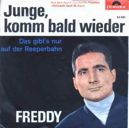 Quinn Freddy - Junge, komm bald wieder