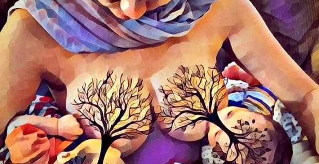 Το Δέντρο της Ζωής: Η τέχνη της μητρότητας γίνεται έργο τέχνης [ΦΩΤΟΓΡ...