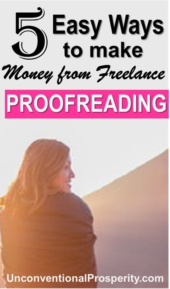 The 5 Easiest Ways to Make Money from Freelance Proofreading – Extra Cash Side Jobs