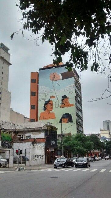 Mural Rua Barão de Limeira/ São Paulo - BR 04/2017