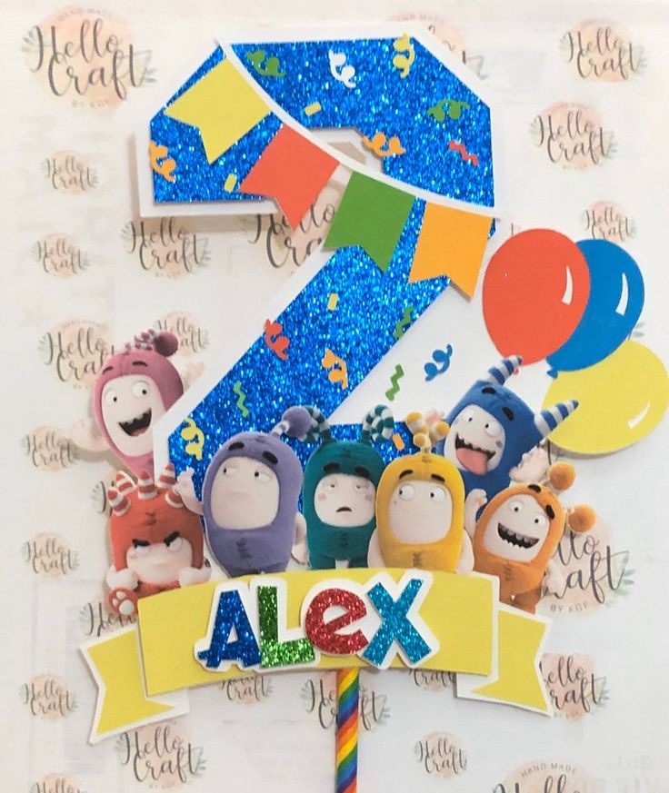 ODDBODS Cake Topper Etsy in 2020 Cake toppers, Topper