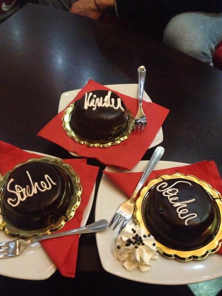 #Torte #Kinder e #Sacher in fantastiche mini porzioni :)