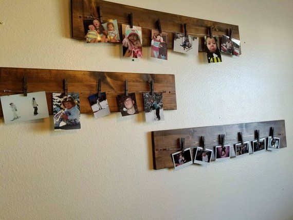 Wood Board For Photo Picture Display