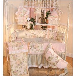 Bundle-16 Brandee Danielle Flower Medley Crib Bedding Collection (2 Pieces): Brande Danielle, Cribs Sets, Nurseries Beds, Flowers Medley, Baby Blankets, Cribs Beds Sets, Pieces Cribs, Daniel Flowers, Baby Cribs
