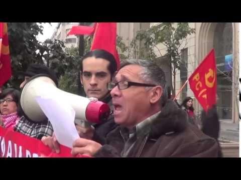Entrega de Carta a Bachelet