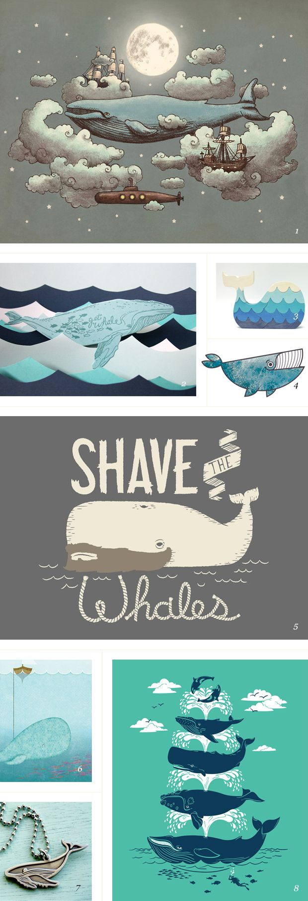 roundup of whales / featured on dearestnature.com