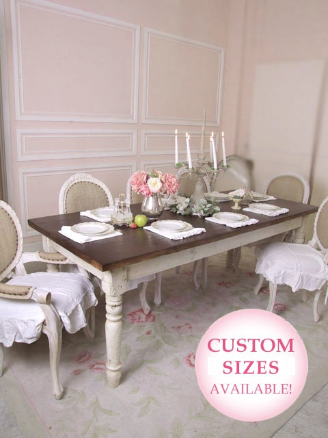 French Farmhouse Dining Table