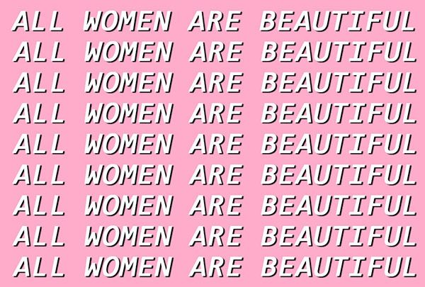 "but like this ""all women are pretty"" phrase trend confuses me bc it's so passive ? it's a passive attempt at creating ~*equality*~ when really these issues need to be centered on equity. yes, all women are beautiful. just like yes, all lives matter. but our priorities when decolonizing should not be set on focusing on this obvious notion but instead prioritizing those who don't conform to the eurocentric standards of beauty this phrase normally ignores, you feel?"