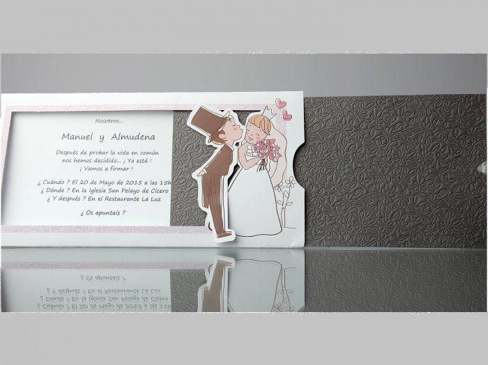 Invitación de boda - CARD 34948