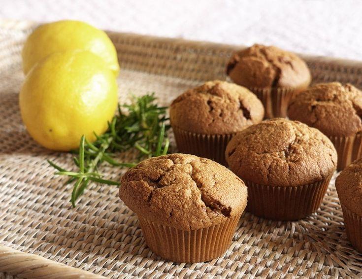 Citronovo-rozmarýnové muffiny