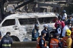 Mexico : lourd bilan après lexplosion dun camion-citerne (Vidéo)