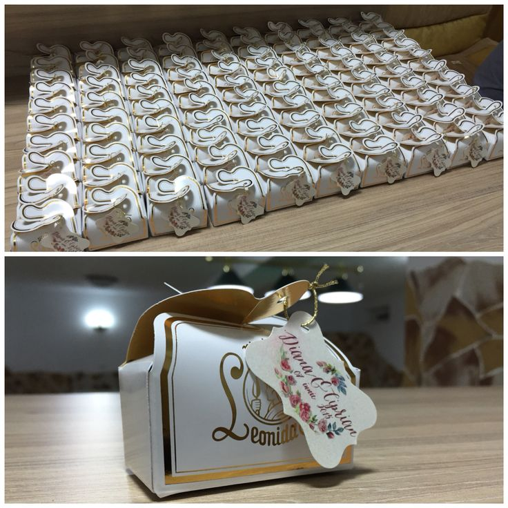 My wedding favor - 2 chocolates - made by Leonidas Romania