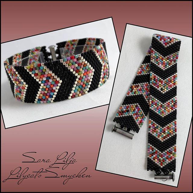 #armband #smycken #pärlor #delicabeads #peyotestitch #handgjordasmycken #handgjort #bracelets #bracelet #jewelry #handmade #beads #miyukibeads #miyuki #seedbeads #musthave #doityourself#handmadejewelry #color #colorful #mixedcolors